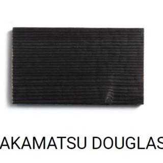 TAKAMATSU (zwart gebrand Douglas hout)