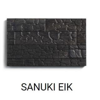 SANUKI (zwart gebrand Eikenhout)