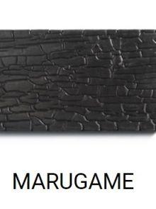MARUGAME (zwart gebrand Accoya hout)