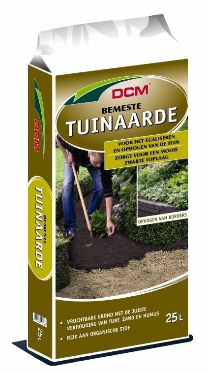 DCM Bemeste tuinaarde (25 liter)