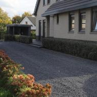 Moderne landelijke 'duotuin'  in Hoeven