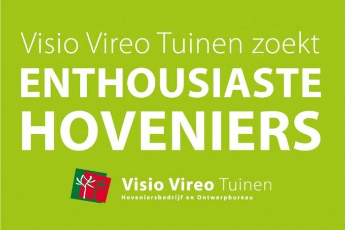 Visio Vireo Tuinen zoekt enthousiaste hoveniers