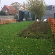 Moderne Landelijke tuin Heerle