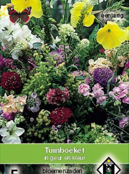 Tuinboeket in geur en kleur (zaden Eenjarige bloemenmengsels, art. 36300)