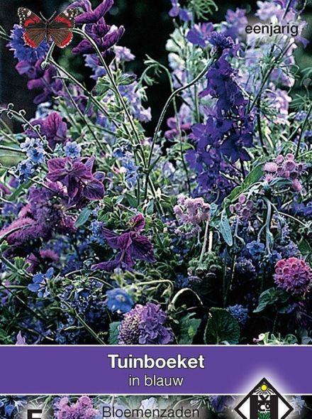 Tuinboeket in blauw (zaden bloemenmengsels, plukbloemen, art. 36310)