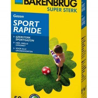 Barenbrug Sport Rapide 1000 gram (graszaad, Hoge bespelingstolerantie)