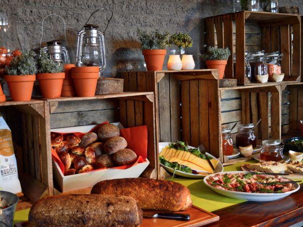 Fris & fruitig lunchbuffet