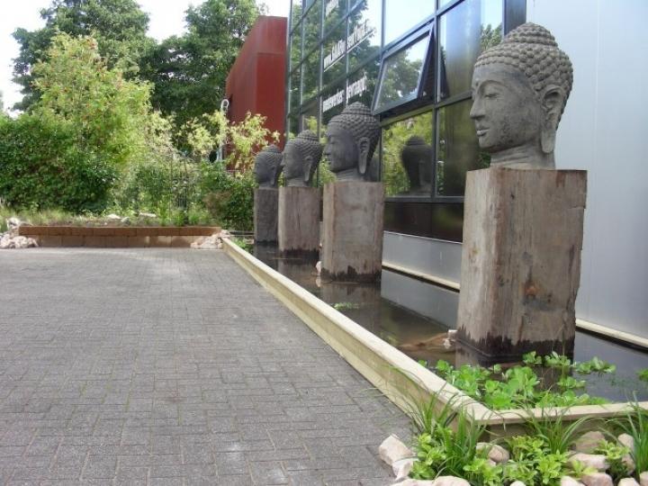 Yogatuin in Almere
