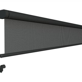 Oprolbaar windscherm breedte 351 t/m 400 cm x lengte 250 cm (Vento - Luxxout)