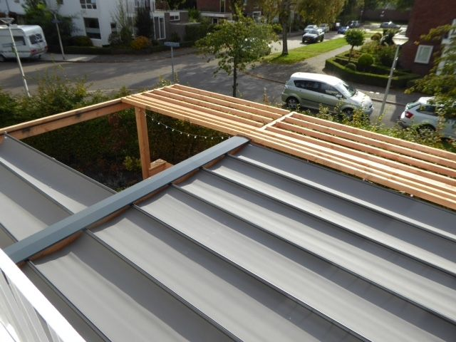 Pergola zonwering SOLEM TIBELLY - Breedte 2,5 tot 3 meter / uitval 1 tot 2,5 meter (ACRYL - Luxxout terrasoverkapping)
