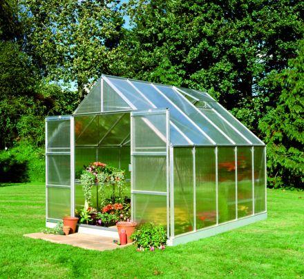 Hobbykas, Serre Magnum 108, polycarbonaat 6mm (Royal Well, Halls Greenhouses)