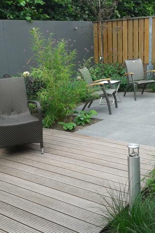 strakke tuin moderne kleine tuin in Eersel