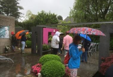 tuinen kijken met de tuinclubs bij fokker-tuinen