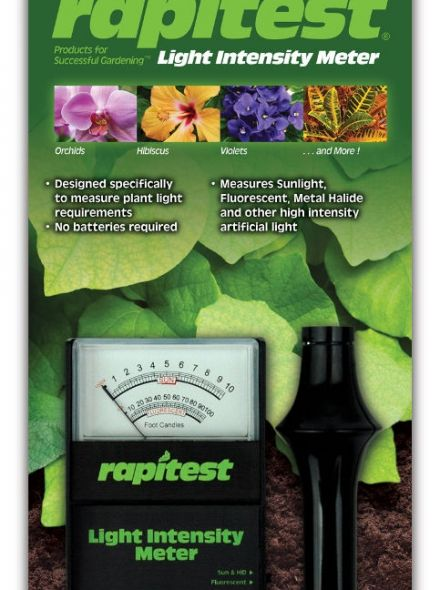 1877 Lusterleaf Rapitest lichtmeter speciaal voor planten binnen en buiten (PCT260)