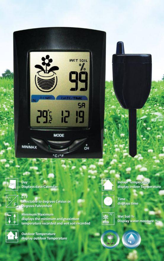 Draadloze temperatuur meter met sensor (PCT040)