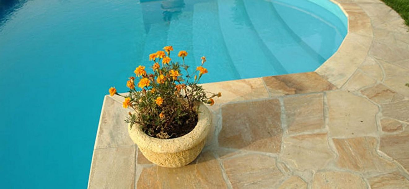 Florida yellow flagstones 2-4 cm dik (m2 - art. 55082110)