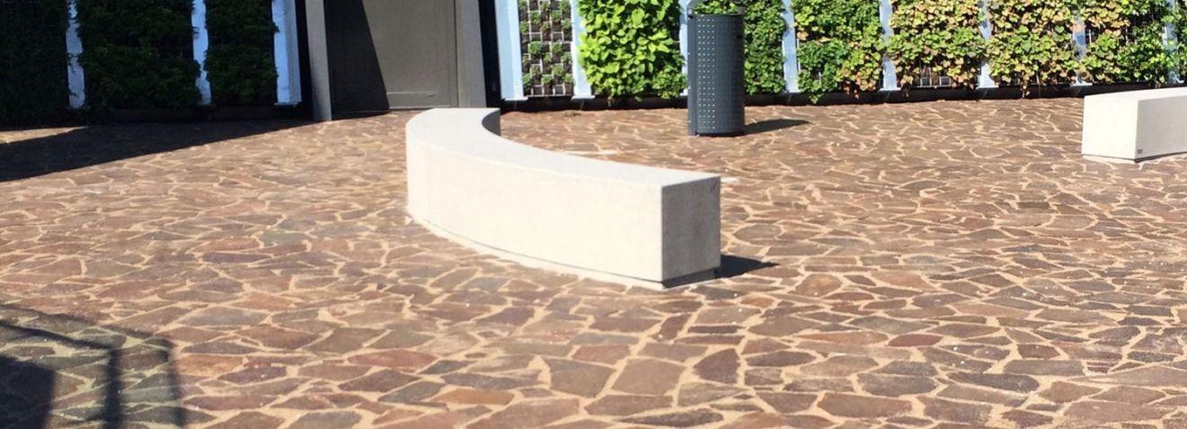 Porfier (Italie Gigante) flagstones 3-6 cm dik (per kg - art. 55023110)