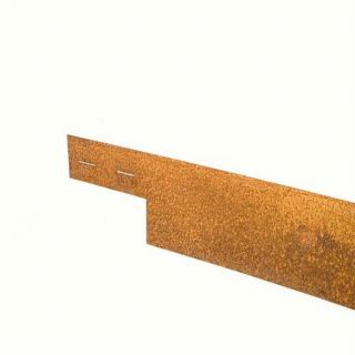 Ongecoat Cor-Ten staal, 3 mm (225 x10,2 cm - vlakke variant - COL-MET - art. 1142182)