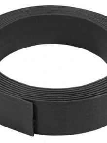 Ecoboard flex black 2500x20x0,7 cm (kleur zwart, 25 meter, art. 55090874)
