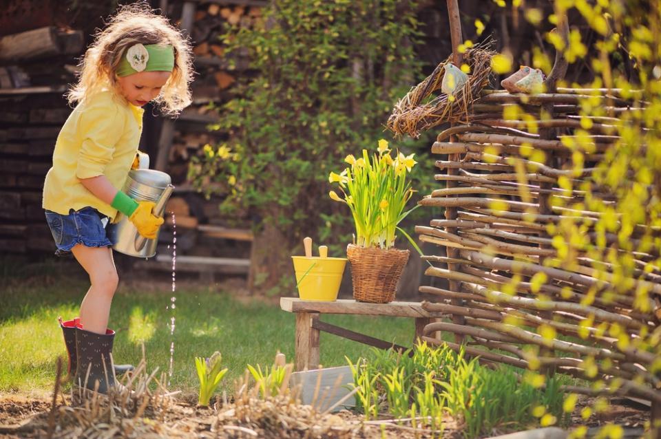 De tuin loopt uit!