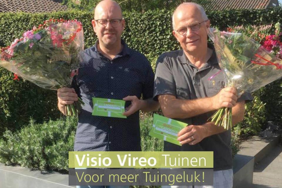 Veel plezier met de Visio Vireo Tuincadeaubon!