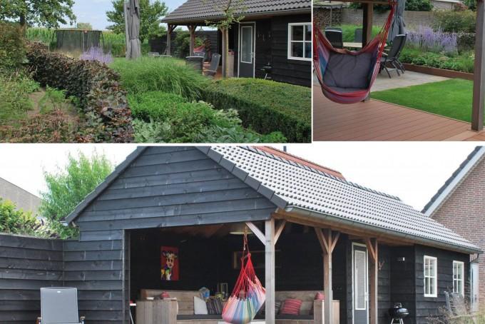 Tuinhuis of overkapping in het ontwerp