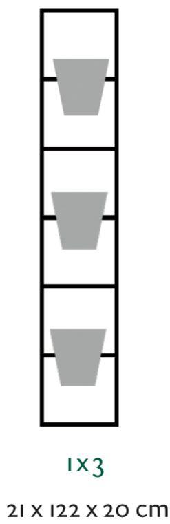 B-E-N-D plantenrek 21 x 122 cm