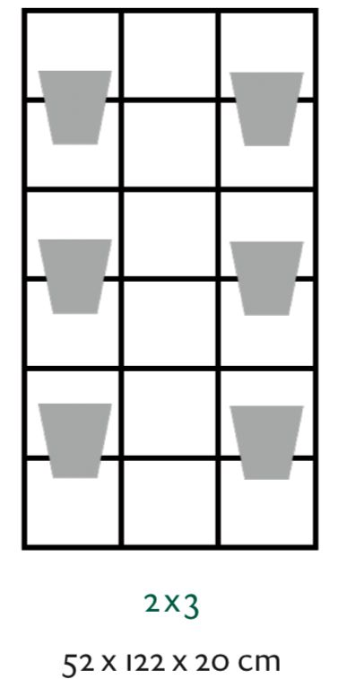 B-E-N-D plantenrek 52 x 122 cm
