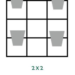B-E-N-D plantenrek 52 x 80 cm