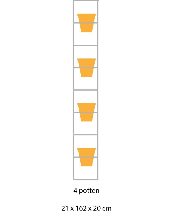 B-E-N-D plantenrek 21 x 162 cm