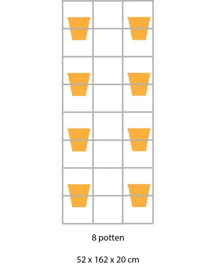 B-E-N-D plantenrek 52 x 162 cm