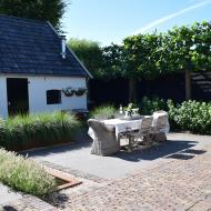 Moderne boerderij tuin
