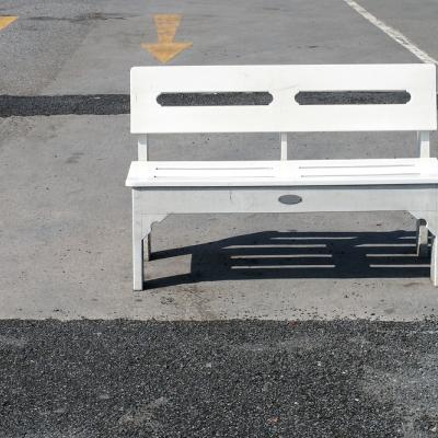 Stel dat je terras voelt als een parkeerterrein
