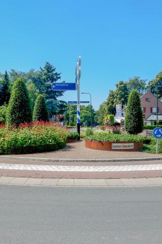 2e Prijs voor rotonde in Oosterbeek