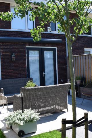 Moderne, knusse tuin
