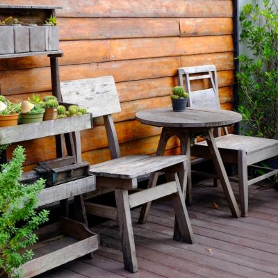 Kan een tuin wel zonder hout!?