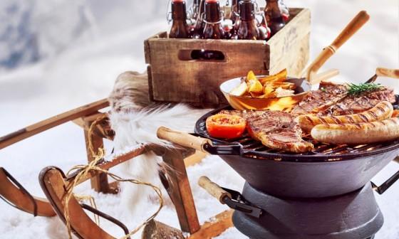 Proef van onze winterbarbecue!