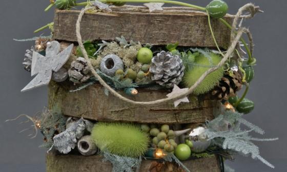 Winterdecoratieworkshop: 'Winterse guirlande'