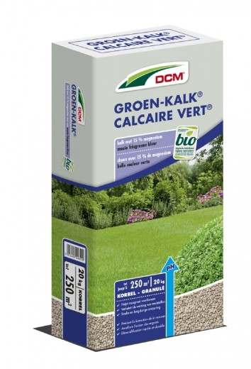 DCM Groen-Kalk® - Kalkbemesting - 20 kilogram (Gazonkalk 200 m2)