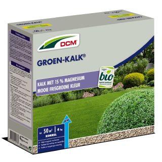 DCM Groen-Kalk® - Kalkbemesting - 4 kilogram (Gazonkalk 40 m2)