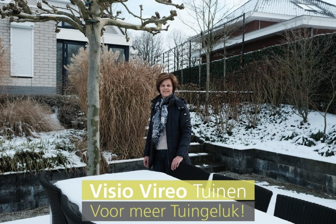 """""""Visio Vireo Tuinen is vakkundig en creatief, wij zijn al 9 jaar super tevreden!"""""""