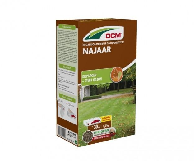 DCM Organische Gazonmeststof voor het Najaar -  1,5 kilogram (Gazonbemesting 30 m2)