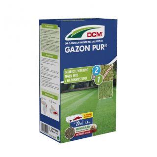 DCM Organische Meststof Gazon Pur® - 1,5 kilogram (Gazonbemesting 15 m2)