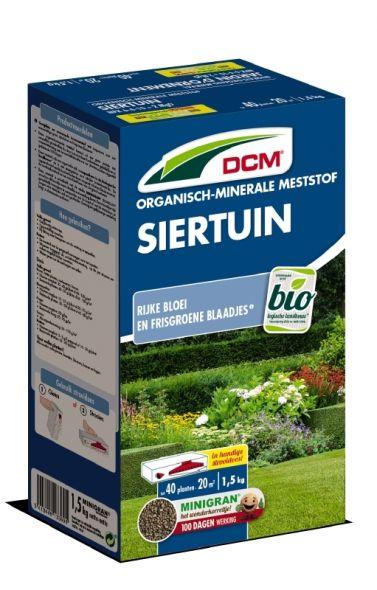 DCM Organische Meststof Siertuin - 1,5 kilogram (Bemesting voor de tuin)