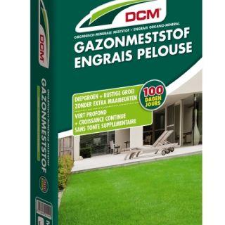 DCM Organische Gazonmeststof - 10 kilogram (Gazonbemesting 100 m2)