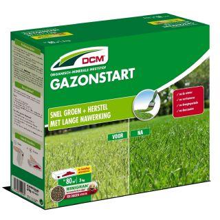 DCM Meststof Gazonstart - Gazon bemesten - 3 kilogram (Gazonbemesting 90 m2)