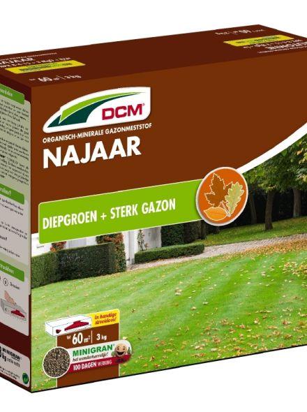 DCM Organische Gazonmeststof voor het Najaar - 3 kilogram (Gazonbemesting 70 m2)