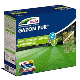 DCM Organische Meststof Gazon Pur® - 3 kilogram (Gazonbemesting 35 m2)