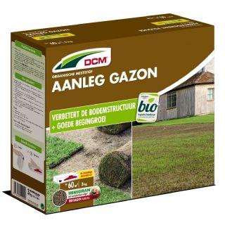 DCM Meststof Aanleg Gazon 3 kg (Gazonbemesting voor 35 / 70 m2)