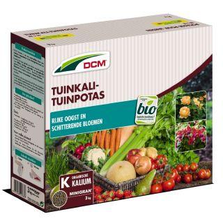 DCM Tuinkali / Tuinpotas 3 kilogram (Moestuin bemesting)